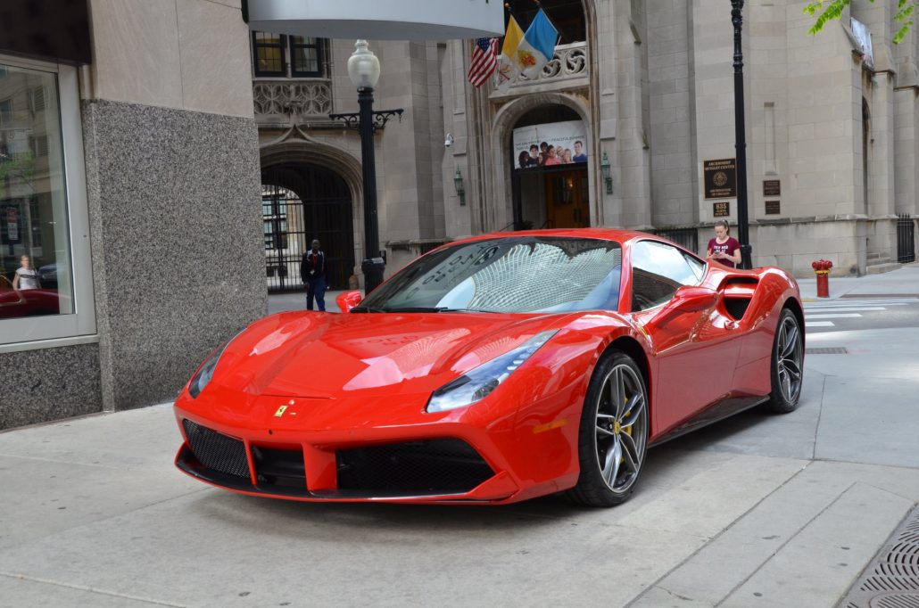 Ferrari 488 Hire Manchester, Bradford, Luton, York, Harrogate, Huddersfield, London, Knightsbridge