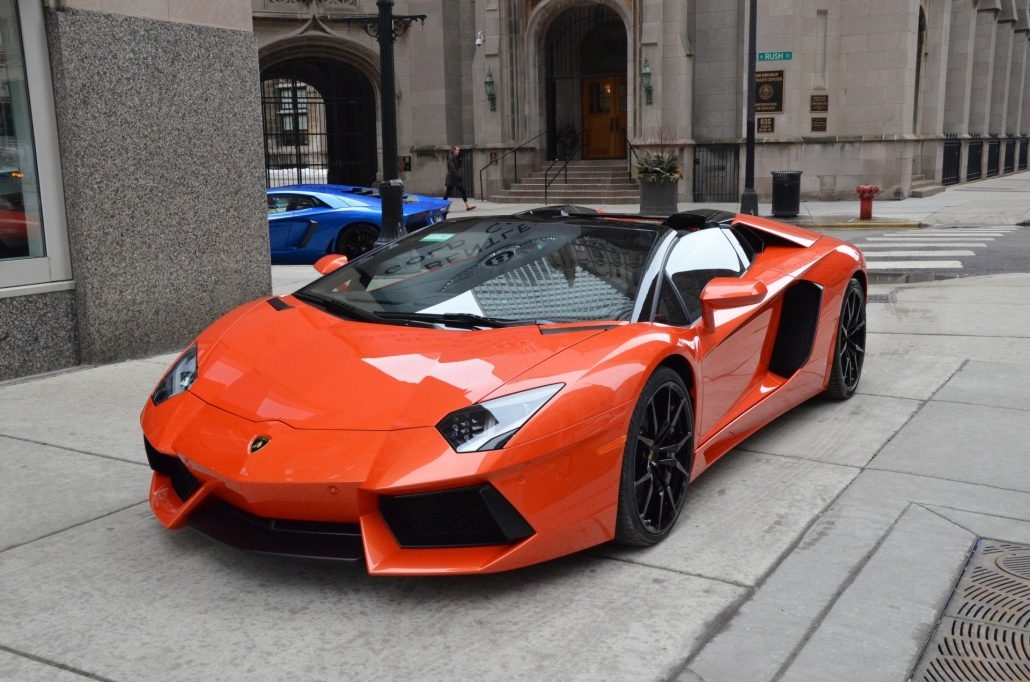 Lamborghini Aventador Hire London