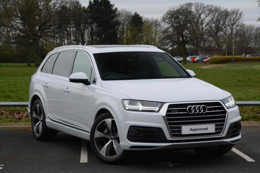 Audi Q7 Hire Supercars of Yorkshire