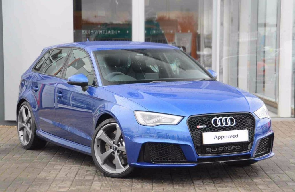 Audi RS3 Hire Bradford Leeds Manchester Luton Dewsbury Girlington