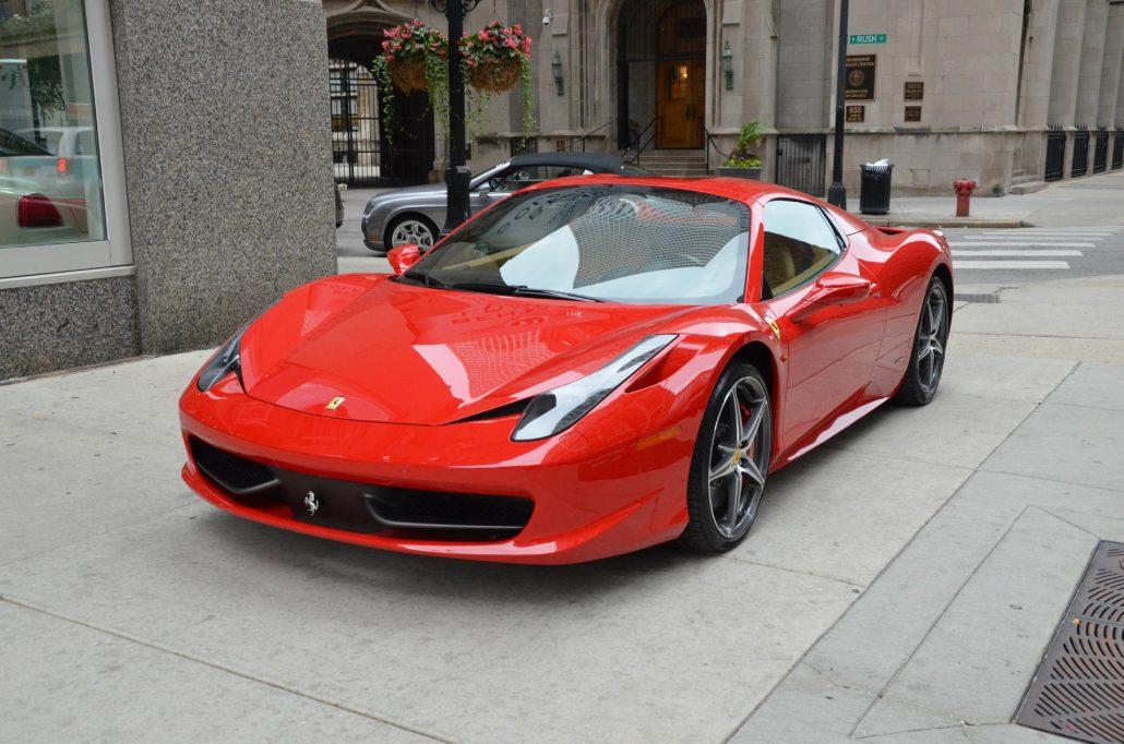 Ferrari 458 Italia Hire Peterborough