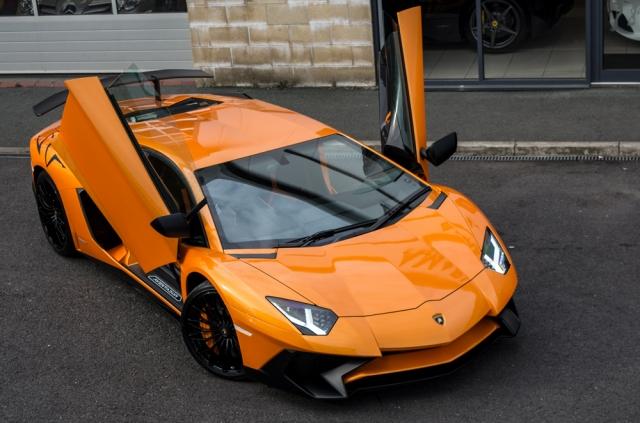 Lamborghini SV Roadster Hire Birmingham